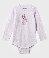 Mini A Ture Alara B Baby Body Light Grey Melange Light Grey Melange