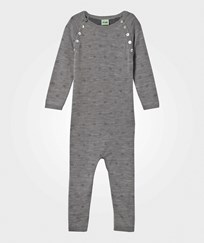 FUB Baby Onesie Grey Black