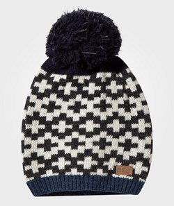 Melton Lamb´s Wool Hat Reflex Pom Navy
