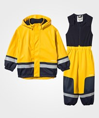 Didriksons Boardman Kids Set Yellow Yellow