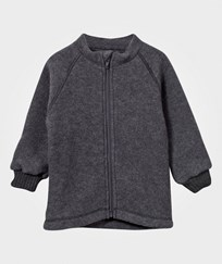 Mikk-Line Junior Wool Jacket Melange Grey Melange Grey