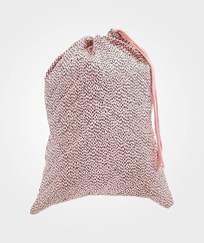 Soft Gallery Pebbles Laundry Bag Silver Pink Silver Pink, AOP Pebbles
