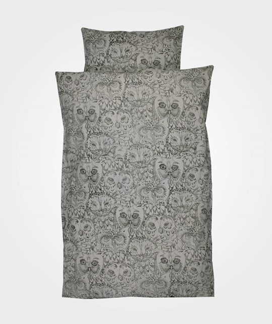 Soft Gallery Owl Baby Bed Linen Drizzle Drizzle, AOP Owl