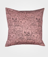 Soft Gallery Owl Kuddfodral Stor Korall Coral, AOP Owl