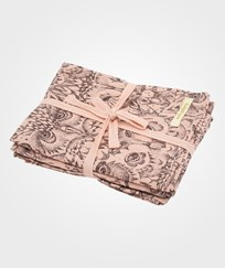 Soft Gallery Owl Muslin Korall Coral, AOP Owl