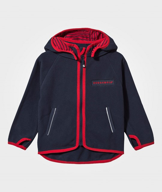 Geggamoja Wind Fleece Jacket Navy marinblå