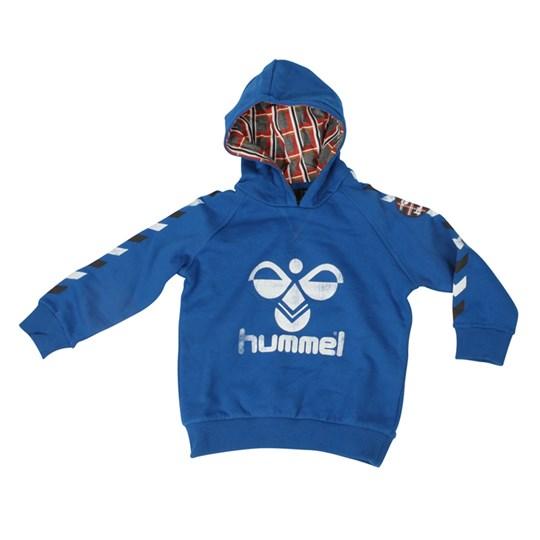 Hummel Christos Hood Sweat Blue