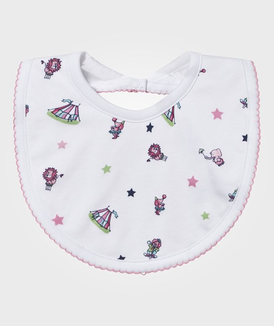 Kissy Kissy Bib Clowning Around Pink Pink