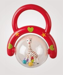Sophie The Giraffe Sophie Rattle Red