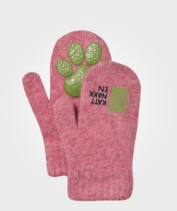 Kattnakken Magic Wool Mittens Pink
