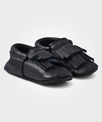 Mini Mocks Batman Moccasin Black