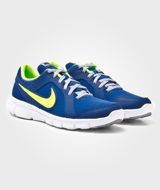 NIKE Nike Flex Experience Leather (GS) Gym Blue