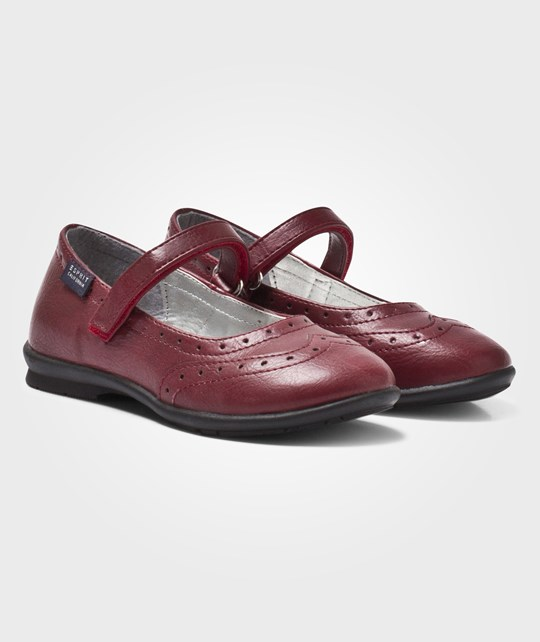 Esprit Formal Shoes Bordeaux Red Röd
