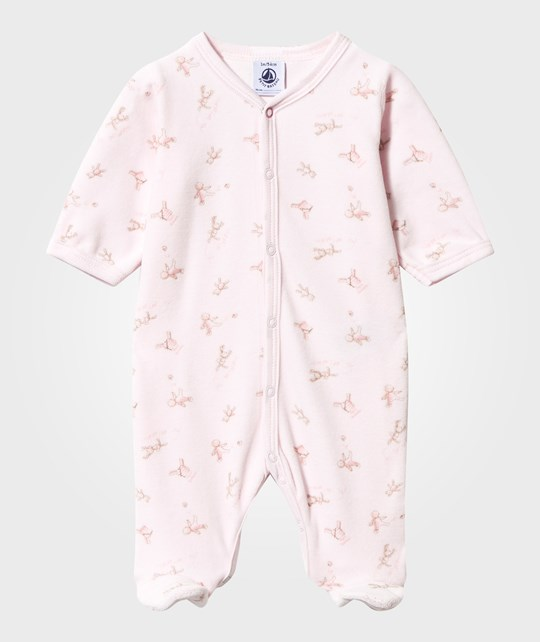 Petit Bateau Footed Baby Body Vienne/Multicolor vienne/multico