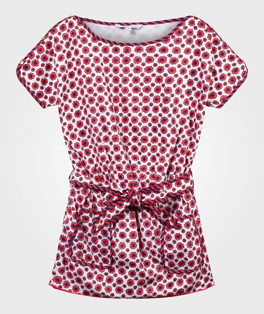 Little Marc Jacobs Robe Rose Fonce Blanc Pink