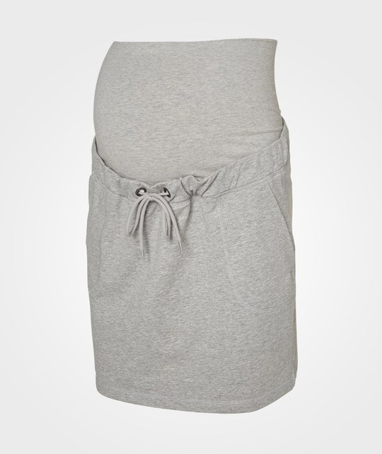 Mamalicious ML Jenny Sweat Skirt Grey Melange Grey