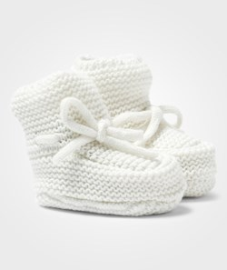 United Colors of Benetton Knitted Baby Booties White