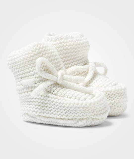 United Colors of Benetton Knitted Baby Booties White White