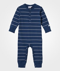 eBBe Kids Alpha Baby One-Piece True Navy/Off White Stripe True navy/Offwhite stripe