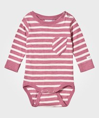 eBBe Kids Almond Baby Body Dusty Pink/Off White Stripe Dusty pink /offwhite stripe