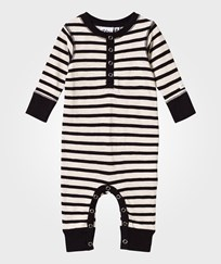 eBBe Kids Amore Baby One-Piece Off White/Black Stripe Offwhite/black stripe