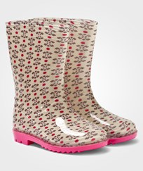 United Colors of Benetton Wellies Pink Flowers Pink