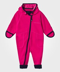 Geggamoja Wind Fleece Overall Raspberry Rosa