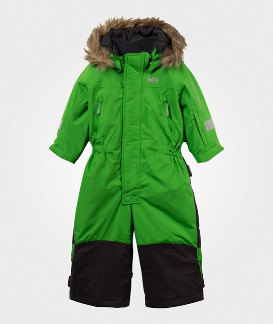 Helly Hansen Powder Skisuit Green Green
