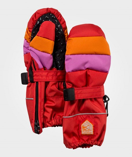 Hestra Baby Zip Swisswool Light Red/Cerise