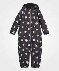 Ticket to heaven Baby Suit Turtledove/Stars Turtledove/Stars