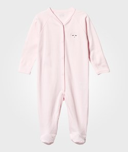 Livly Footed Baby Body Pink/Black