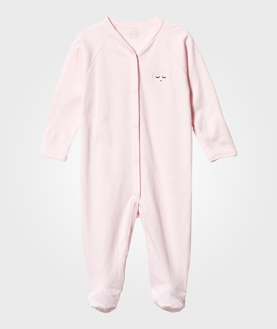 Livly Footed Baby Body Pink/Black baby pink/ black