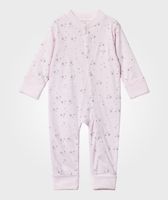 Livly Baby One-Piece Baby Pink/Grey Stars baby pink/ grey stars
