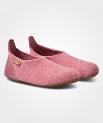 Bisgaard Basic Wool Home Shoe Rose 91 Rosa