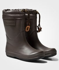 Bisgaard Rubber Boot Wool Brown BROWN