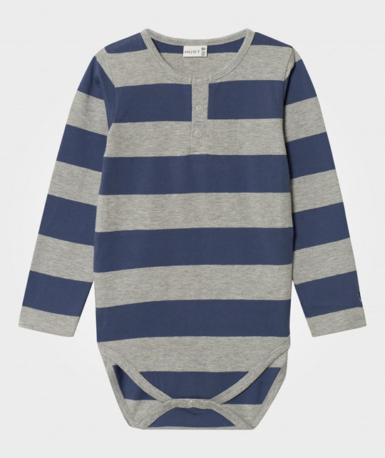 Hust&Claire Striped Body Metal blue