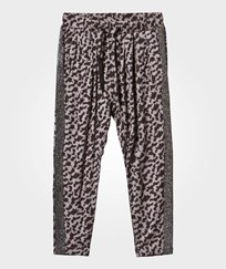 Petit by Sofie Schnoor Leopard Print Pants Grey Black