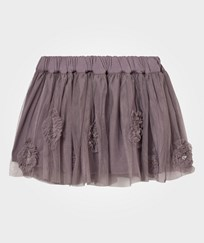 Noa Noa Miniature Mini Tulle Party Skirt Grey Ridge Gray Ridge