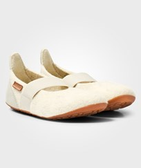 Bisgaard Home Wool Ballet Shoe Cream 44 Creme