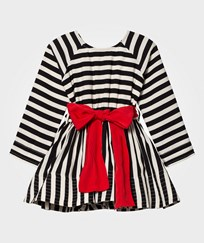 How To Kiss A Frog Adele Dress Stripe Black/White Stripe Blk/wht