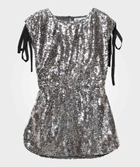 How To Kiss A Frog Vanessa Dress Sequins Silver Silver