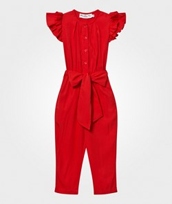 How To Kiss A Frog Catia Jumpsuit Red