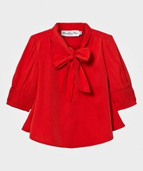 How To Kiss A Frog Poppy Blouse Red Red