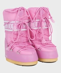 Moon Boot Pink Nylon Moon Boots Pink