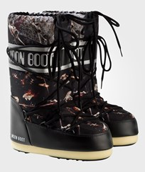 Moon Boot Black and Silver Star Wars Fleet Moon Boots 001 BLACK-SILVER