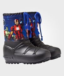 Moon Boot Avengers Pod Moon Boots 001 BLACK-NAVY-RED