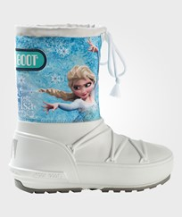 Moon Boot Disney Frozen Pod Moon Boots 001 WHITE-LIGHT BLUE