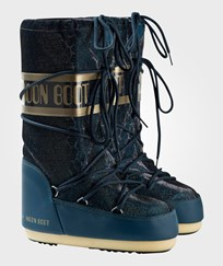 Moon Boot Blue Green Sunset Snake Effect Moon Boots 002 EMERALD