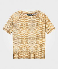 Molo Neptune Top Gold Fishshell Gold Fishshell