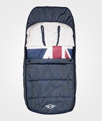 EasyWalker Mini Stroller Multiperformance Footmuff Union Jack Denim Jack Denim